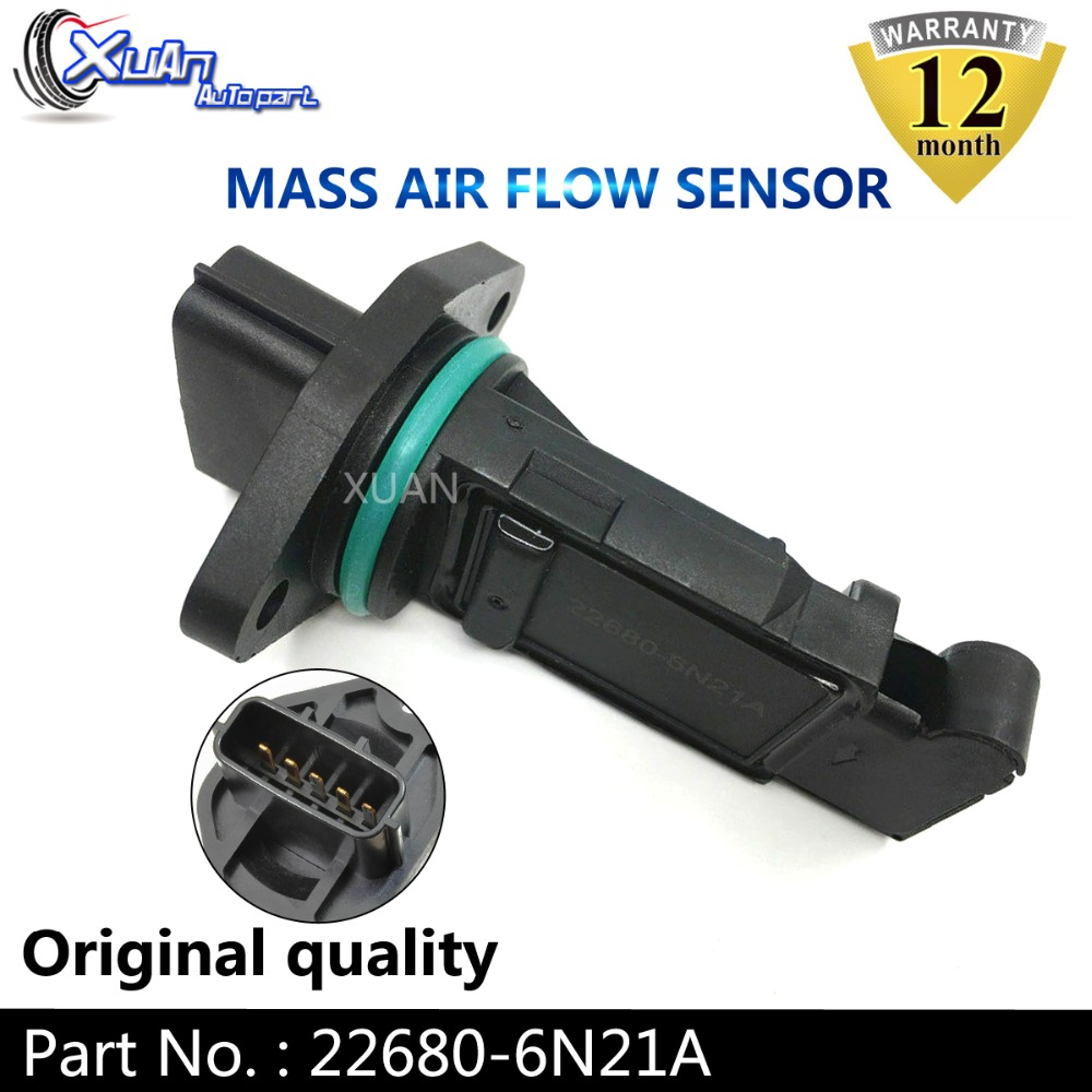 22680-6N21A Mass Air Flow Sensor MAF Fits For Nissan Skyline V35 250GT 300GT