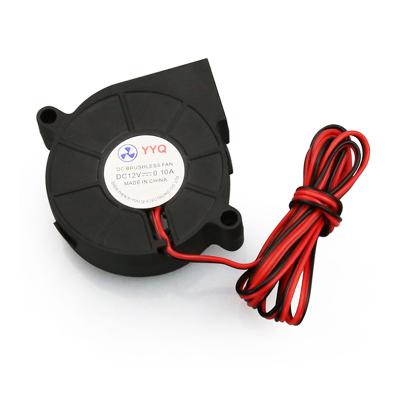 ANENG 1PC Cooling 12V DC 50mm Blow Radial Cooling Fan Hotend Extruder For 3D Printer New Стикер