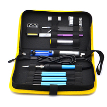 110 220v 60w US Eu Electric Soldering Irons Kit Tips Portable Welding