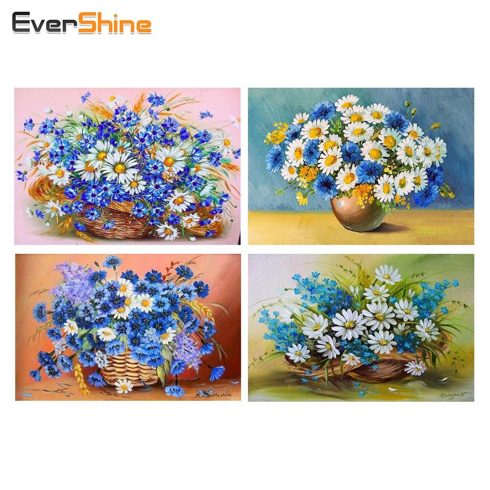EverShine, zonnebloem, Diamond Mosaic, schilderij, Europa handwerk - Kunsten, ambachten en naaien