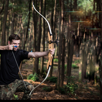 Powerful Recurve Bow 18 30 lbs Draw Weight American Archery Hunting Bow and Arrow Archers Outdoor Shooting Bow HW114