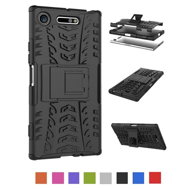 Case For Sony Xperia XA XA1 XA2 X XZ XZS XZ1 XZ2 L1 L2 E5 E6 Ultra Compact Plus Shockproof Armor Silicone Case Cover Capa Shell