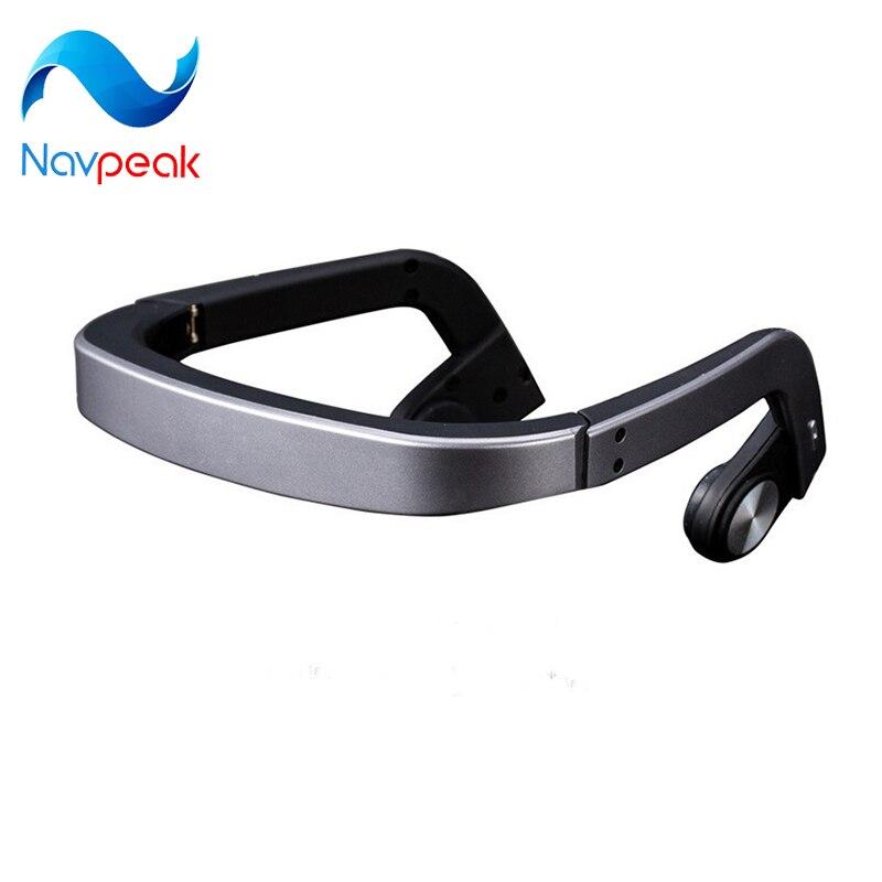 Navpeak Bone Conduction Headset Wireless Bluetooth Waterproof Outdoor Sports earphone