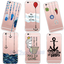 New Models Amor Feather Portuguese Red Balloon Girl Designs Hard Plastic Phone Case for iPhone 5 5s se 6 6s 7 Plus Conquer Cover