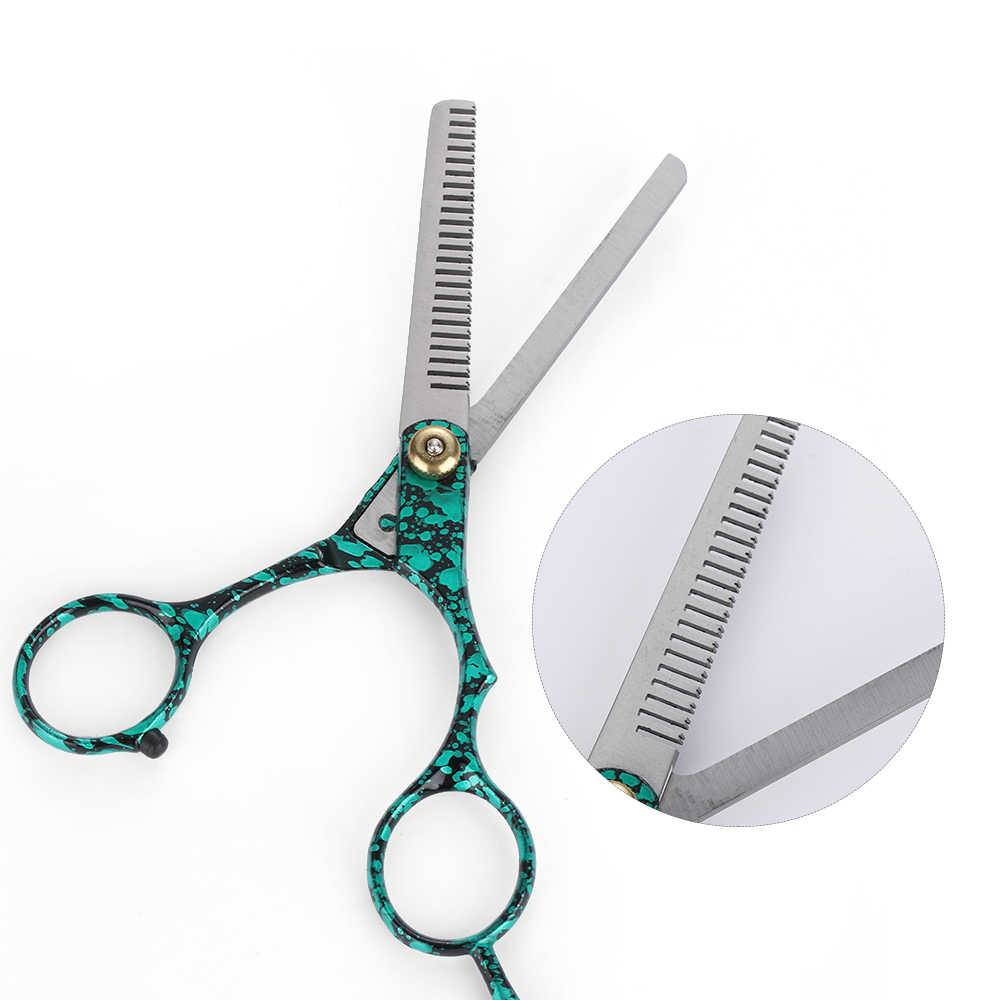 6 Inch Salon Hair Cutting Tools Professional Barber Hair Cutting Thinning  Scissors Shears Hairdressing Styling Tools