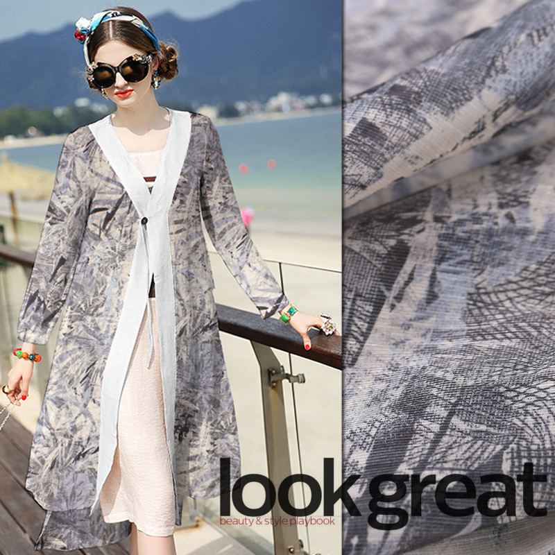 Digital inkjet silk linen fabric summer breathable silk fabric for dress wide cheongsam dress linen fabric linen clothDigital inkjet silk linen fabric summer breathable silk fabric for dress wide cheongsam dress linen fabric linen cloth