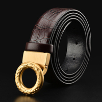 2017 New Ciartuar High Quality Brand Belt Genuine Leather Luxury For Men Trouser First Layer Cow