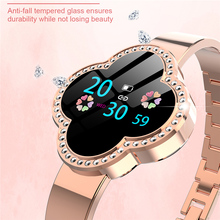 GIAUSA Women Smart Watch Bracelet Reloj Blood Pressure Heart Rate Monitor Fitness Tracker Sport Wristband For Lady