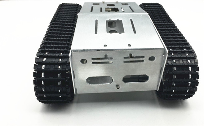 4WD Metal Tank Smart Crawler Robotic Chassis for DIY RC Robot Toy Car Spare Parts F22503