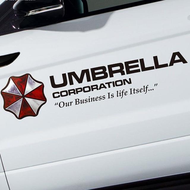 35/50/75/90 cm Film Farbige Umbrella Corporation Biological Hazard ...