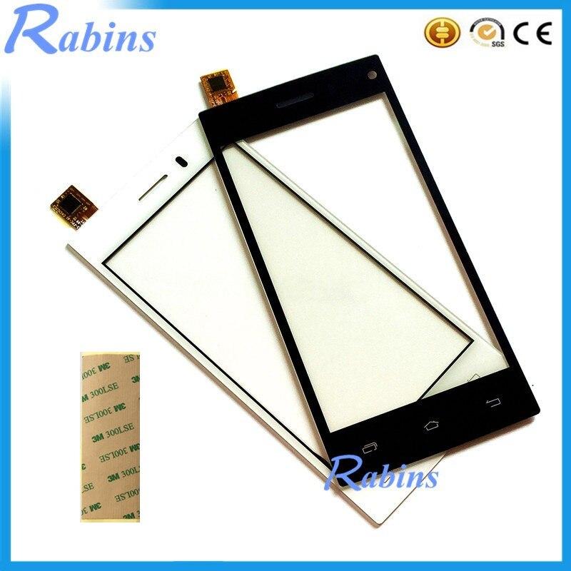 SYRINX 4.5 Inch Touch Screen Digitizer Front Glass For VERTEX Impress Envy Panel Lens Touchscreen Sensor 3m Tape