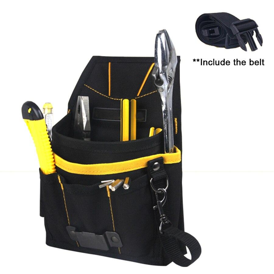EHDIS Window Tint Tools Bag with Belt 600D Hoxford Waterproof Backpack Vinyl Car Wrap Kit Tool Bag Pockets Big Tray Bag CN032