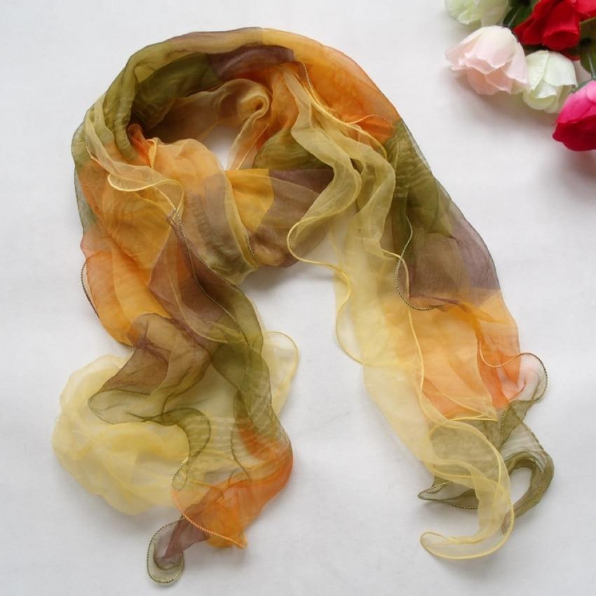 [BYSIFA] Rode Zijden Sjaal Mode Vrouwen Lange Zijden Sjaal Gedrukt Mode-accessoires 100% Zijde Rose Vrouwelijke Lange Sjaal 175 * 40 cm