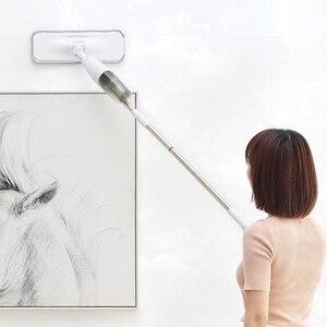 Image 4 - Xiaomi Deerma Water Spraying Sweeper Floor Cleaner Carbon Fiber Dust Brush Brush 360 Rotating Stem 350 ml SS