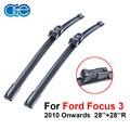 OGE авто Автомобиль стеклоочиститель лезвия цены Для Ford Focus 3 2010,28 ''+ 28''R резиновую прокладку, Автомобильные аксессуары. кнопки CPC117