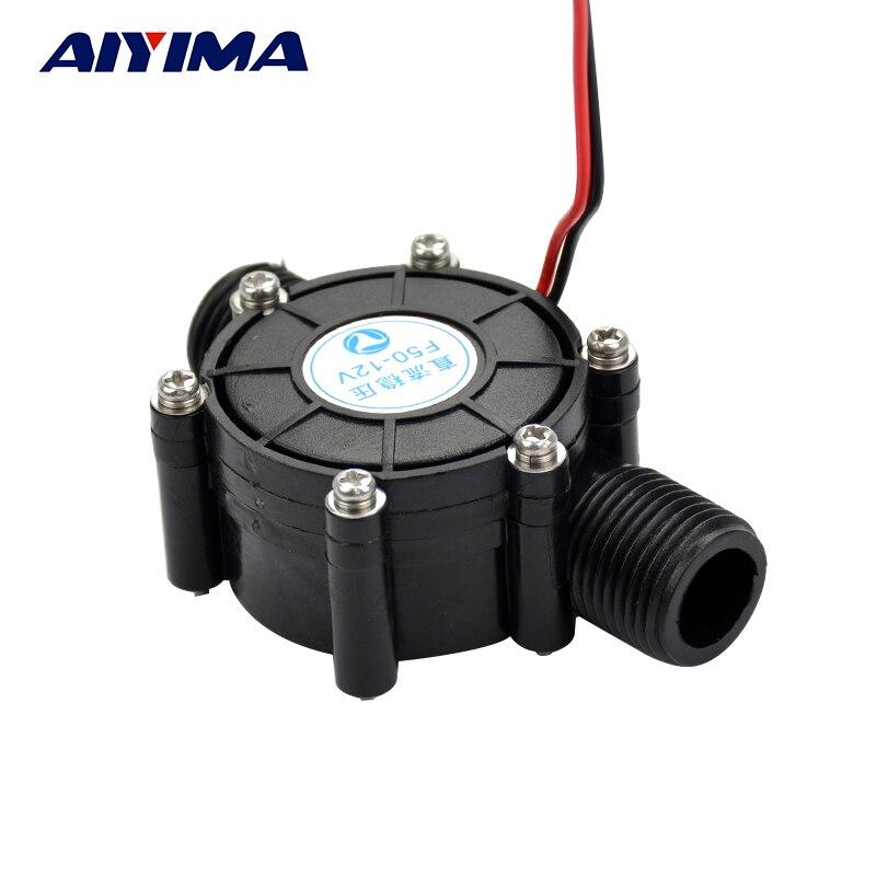 Aiyima DC 12V DC Generator 10W Micro-hydro Water Turbine Generator Water 10W 12V