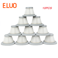 10PCS White HEPA Filter Vacuum Cleaner Accessories Filter Element For Air Filter DX118C DX128C