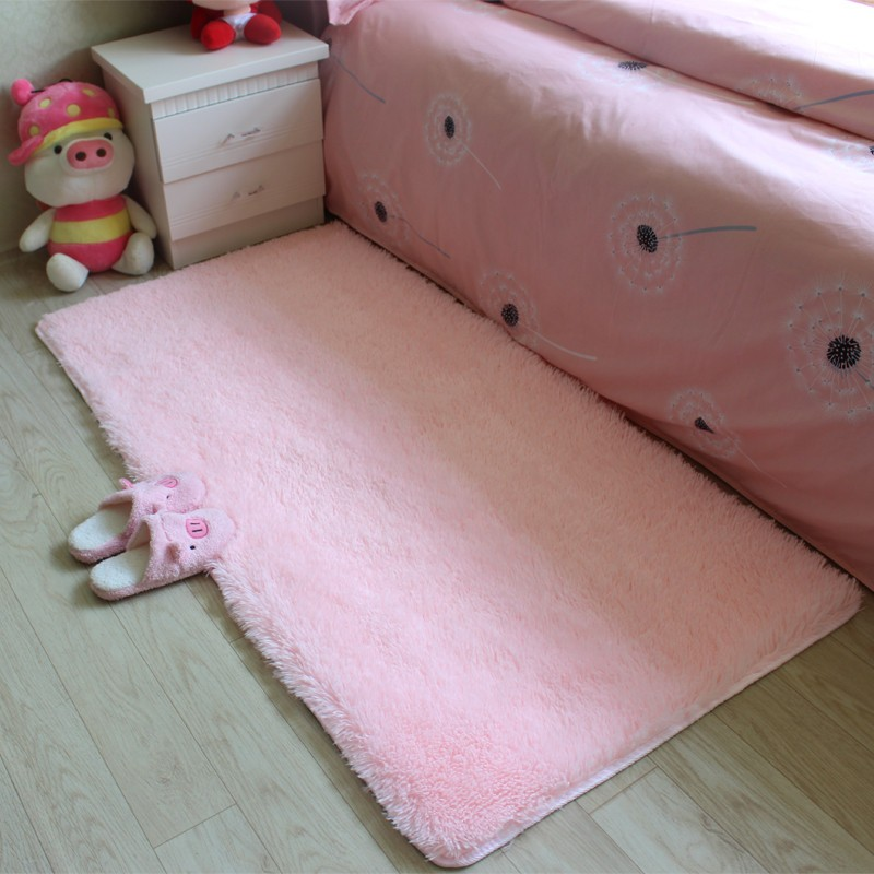 Free Shipping Anti Slip 4.5 Cm Thick Large Floor Carpets For Living Room  Bedroom Modern