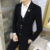 2016 Nueva Moda Casual Hombres Chaqueta de Algodón de Corea Del Estilo Delgado Traje Blaser Masculino Masculinos Trajes Chaqueta Chaqueta de Los Hombres Más Tamaño