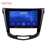 Harfey Android 8.1 1024*600 Quad core 10.1 Car radio GPS Navigation for 2013 2014 2015 2016 Nissan QashQai X Trail 3G WiFi SWC
