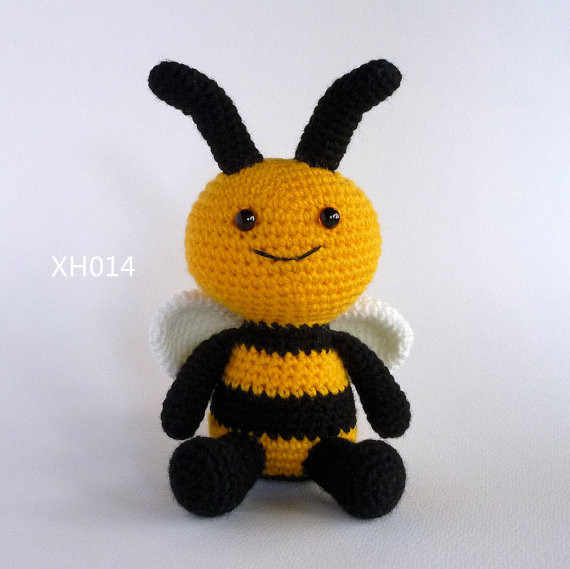 Amazon.com: 10 inches Sleepy Boy Handmade Amigurumi Stuffed Toy ... | 569x570