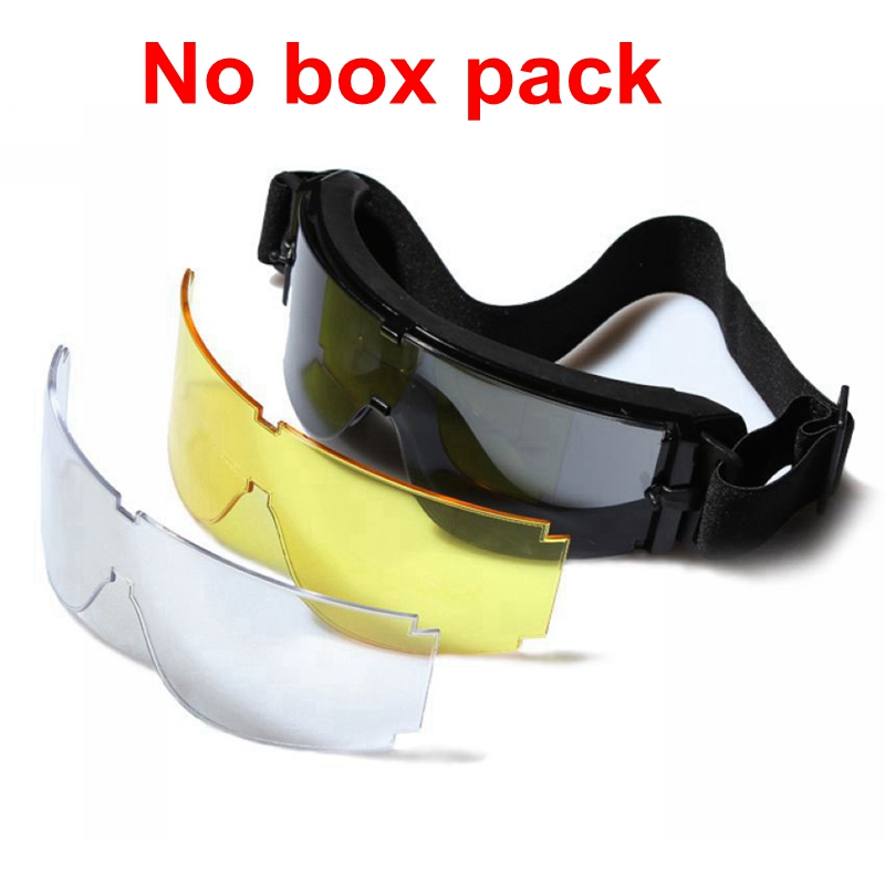 HTB1yJY1QXXXXXcyXXXXq6xXFXXXC - Military Airsoft Tactical Goggles Army Tactical Sunglasses Glasses Army Paintball Goggles