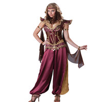 Fashion sexy sequin tassels indian queen belly dance costumes Of Classic Halloween Costume party M,XXXL