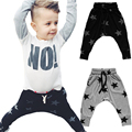2016 Boys Harem Pants Star Printed Toddler Girls Boys Trousers Children Boys Clothing Kids Casual Pants Pantalon Enfant Garcon