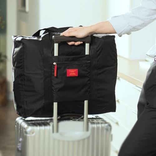 BEAU High quality Black Nylon Foldable Travel Bag Waterproof storage Bags Business Travel Large Capacity handBags niko black 21 23 26 ukulele bag silver edge nylon soprano concert tenor soft case gig bag 5mm thick sponge