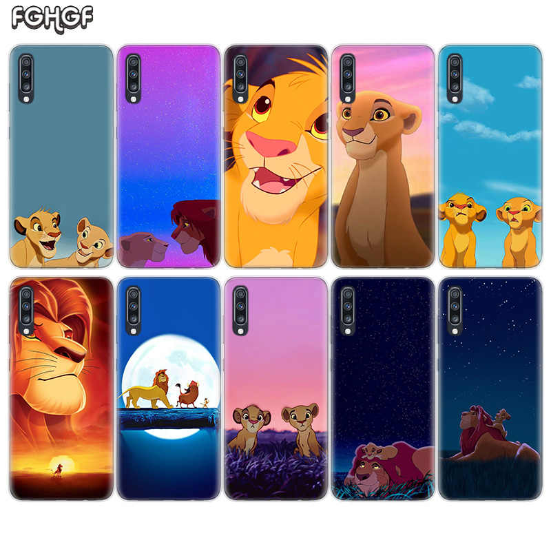 Simba the Lion King Soft TPU Case For Samsung Galaxy S10 Plus lite S10E A70 A50 A30 M40 M30 M20 A60 A40 A20 A10 M10 A20E Cover