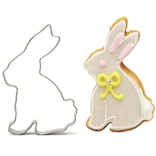 Rabbit Fondant Cutter Toy Kitchen Sale Egg Cake Mold Biscuit Cookie Knife Biscuit Stamp