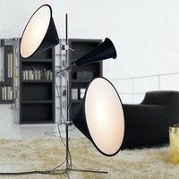 Modern Led Floor Lamps Designer LED Floor Lights Aluminium Metal Lighting Stang Lamps Standing Lights Kitchen Fixtures Luminaire