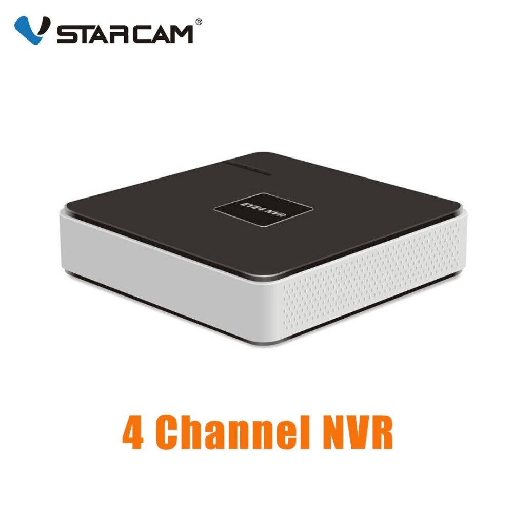 VStarcam HD 4CH NVR аудио вход HDMI 4 канала сети видео регистраторы для ip камера безопасности системы N400P