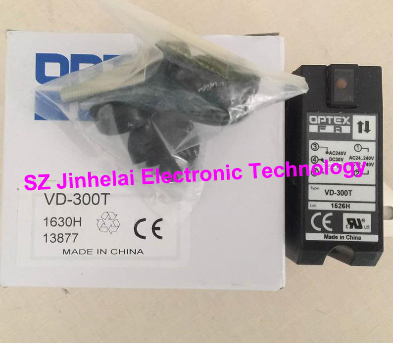 New and original VD-300T  OPTEX PHOTOELECTRIC SWITCH  Photoelectric sensor new and original zr 350n optex photoelectric switch photoelectric sensor