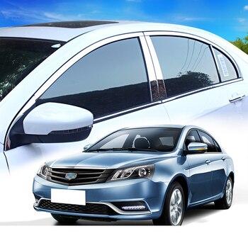 Lsrtw2017 Stainless Steel Car Window Anti-scratch Strip Trims for 2009-2018 2010 2011 2012 2013 2014 2015 2016 2017 2018