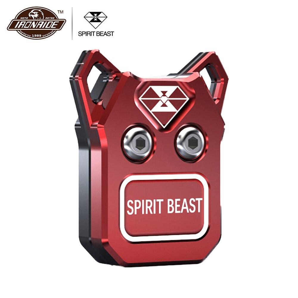 SPIRIT BEAST Motorcycle Key Shell Lock Antivol Moto Key Cover Accessories Lock Motorcycle Key Shell Motorsiklet Kilit Moto Lock