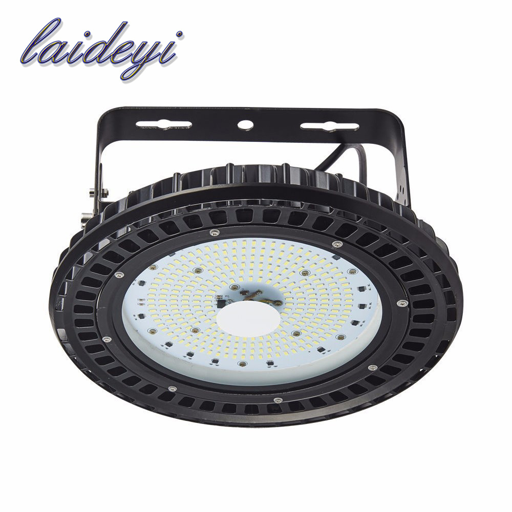 LAIDEYI 2PCS 150W UFO LED High Bay Light Lamp IP54 Waterproof 18000lms SMD5730 150w Factory Warehouse Industrial Shed Lighting laideyi 5pcs high brightness industrial 150w led high bay light fixture ip54 highbay led light ufo led high bay light 18000lm