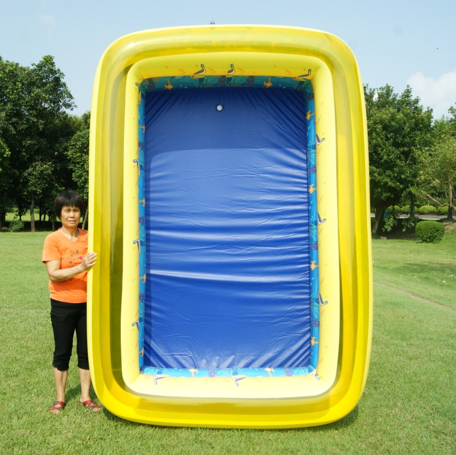 Extra largefamily swimming pool plus size baby child wave for Large size inflatable swimming pool