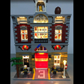 Light up Kit Led Building Blocks Kit for Creator Fire Brigade 10197 Compatible with Lego Lepin 15004