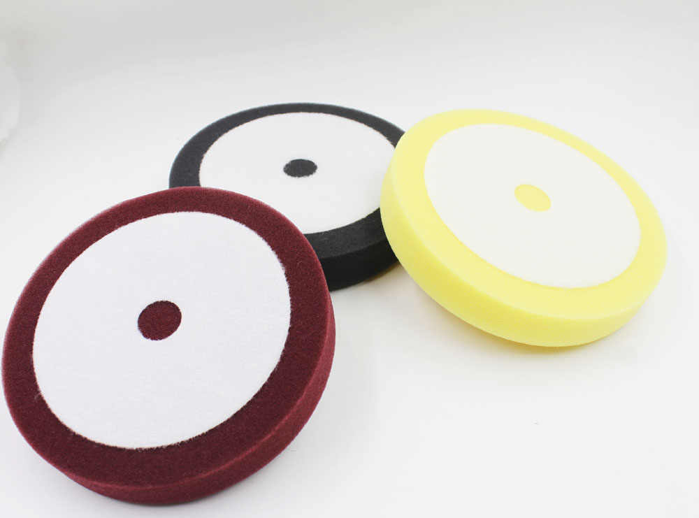 "6.5"" high quality car foam buffing&Polish Pad(AMERICAN materialas MEGUIAR'S car polishing pad no logo)"