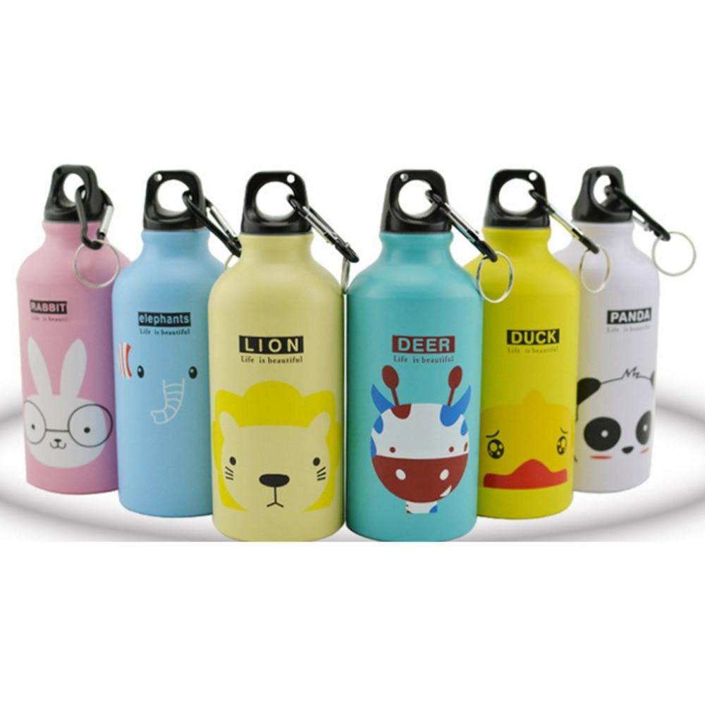 Modern design 500ml lovely animals outdoor portable sports for Decor 500ml bottle