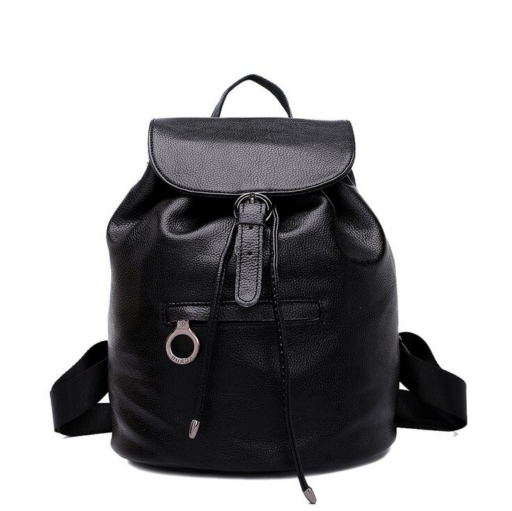 ФОТО newhotstacy bag 111216 women new fashion geniune leather preppy style backpack doulbe shoulder bag