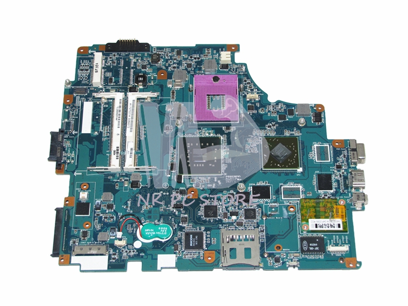 A1734501A Motherboard For Sony VGN-FW MBX-189 M763 Main Board 1P-0091J00-8010 PM45 ATI 216-0729042 DDR2 Free CPU