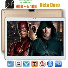 DHL Free Tablet PC 10 inch Octa Core Android 7.0 4GB RAM 64GB ROM Dual SIM Card IPS GPS 1280*800 3G kids Tablets pad 10.1