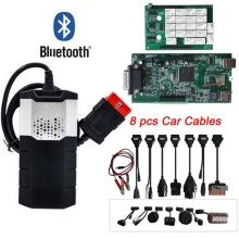 FREE DHL OBD2 diagnostic tool new vci VD DS150E CDP Plus Bluetooth 2015.R3 keygen OBD as multidiag pro scanner for delphis
