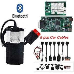 Image 1 - Диагностический инструмент OBD2, новый vci VD DS150E CDP Plus Bluetooth 2015.R3 keygen OBD в качестве мультидиагностического сканера для дельфина