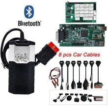Ücretsiz DHL OBD2 teşhis aracı yeni vci VD DS150E CDP artı Bluetooth 2015.R3 keygen OBD olarak multidiag pro tarayıcı delphis