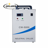 Industrial Laser Cooled Chiller CW 5000AG for 80W 100W CO2 laser tube