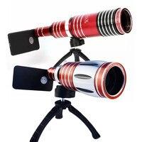 Orsda High End 50X 80X телеобъектив зум объектив телескоп Объективы для мобильных телефонов с штативом для смартфонов Кемпинг Туризм