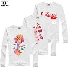 DMDM PIG 2017 Brand Girls T-Shirt Children T Shirt Baby Boy Girl Clothes Long sleeve T-Shirts For Girls Kids Clothes For Boys